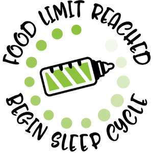 food limit reached - begin sleep cycle