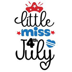 little miss 4th july