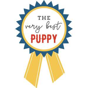 the very best puppy ribbon