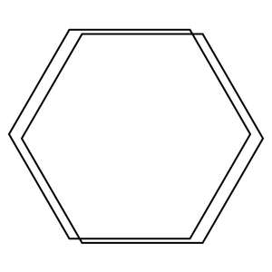 hexagon wire frame