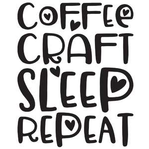 coffee craft sleep repeat