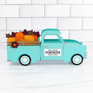 xl box card pumpkin truck