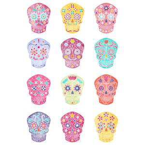 mexican sugar skull stickers
