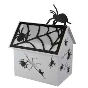 the spidery spooktown village lantern