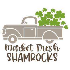 market fresh shamrocks