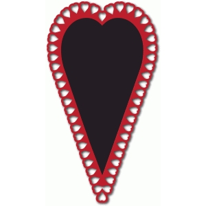 long hearts card front