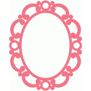samantha walker antique oval frame