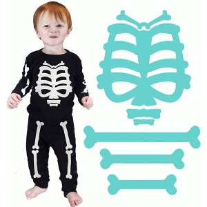 halloween skeleton bones