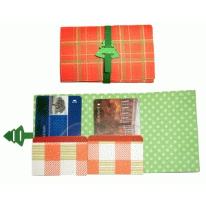 double gift card wallet