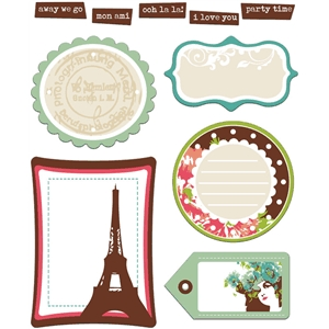 Parisian journal spots & tags