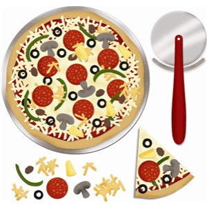 'bake a pizza' set