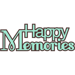 'happy memories' straight word phrase