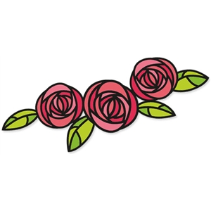 mackintosh rose flourish