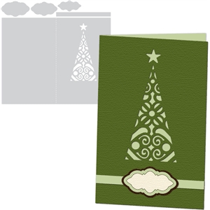 card kit christmas tree