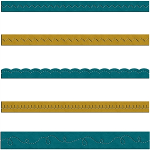 faux stitches - decorative border