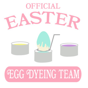 official easter egg dyeing team