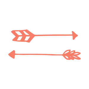 cute hand drawn arrows