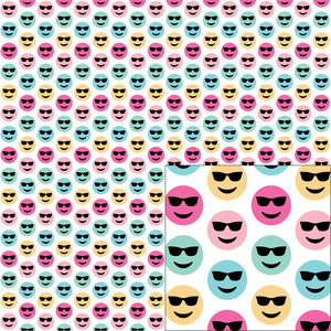 color emoji pattern