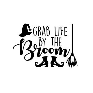 grab life by the broom