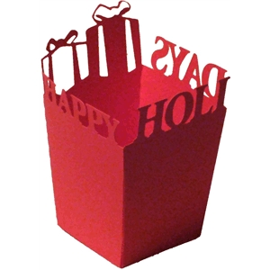 happy holidays gifts box