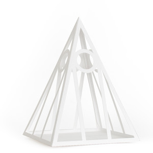 3d mod pyramid decor