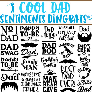 sg cool dad dingbats