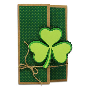 clover surprise card