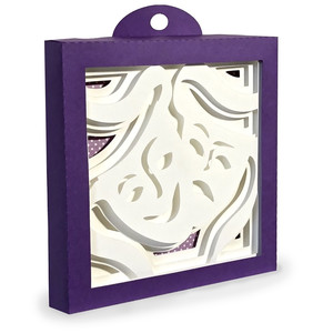 drama masks shadow box