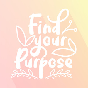 find your purpose font