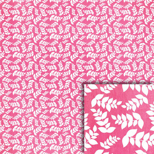 pink vines background paper