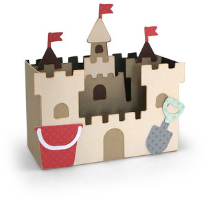 box card sandcastle