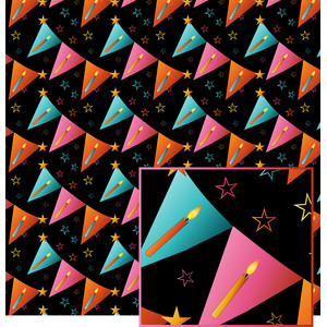 birthday banner pattern