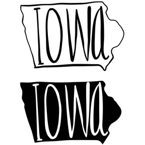 so cute type states - iowa