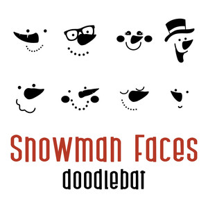 snowman faces doodlebat