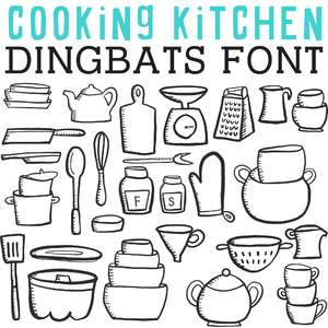 cg cooking kitchen dingbats
