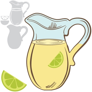 lemon/limeade pitcher