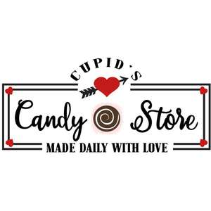 cupid's candy store sign