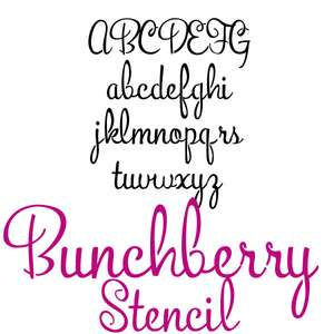 pn bunchberry stencil