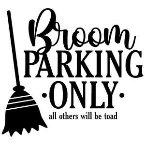 broom parking only