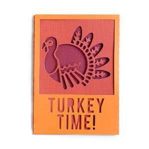 turkey time card