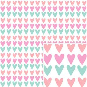 heart stripes pattern
