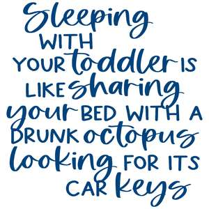 sleeping with your toddler
