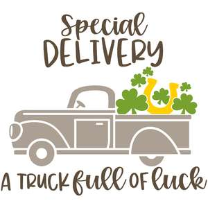 special delivery - a truck full of luck