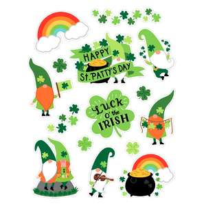 st patrick's day gnome stickers
