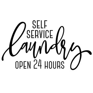 self service laundry 24 hours
