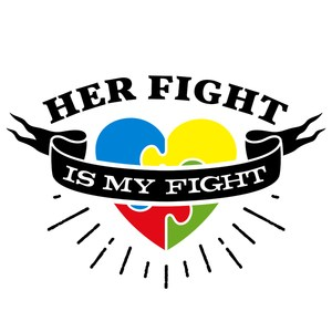 her fight is my fight autism awareness