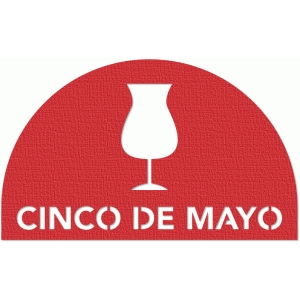 half-moon tab - cinco de mayo