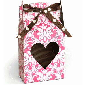 3d tall heart gable box