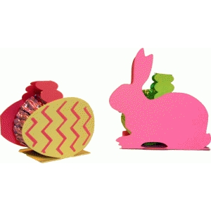 mini easter candy holders