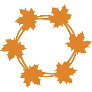 leaf circle: layer 1